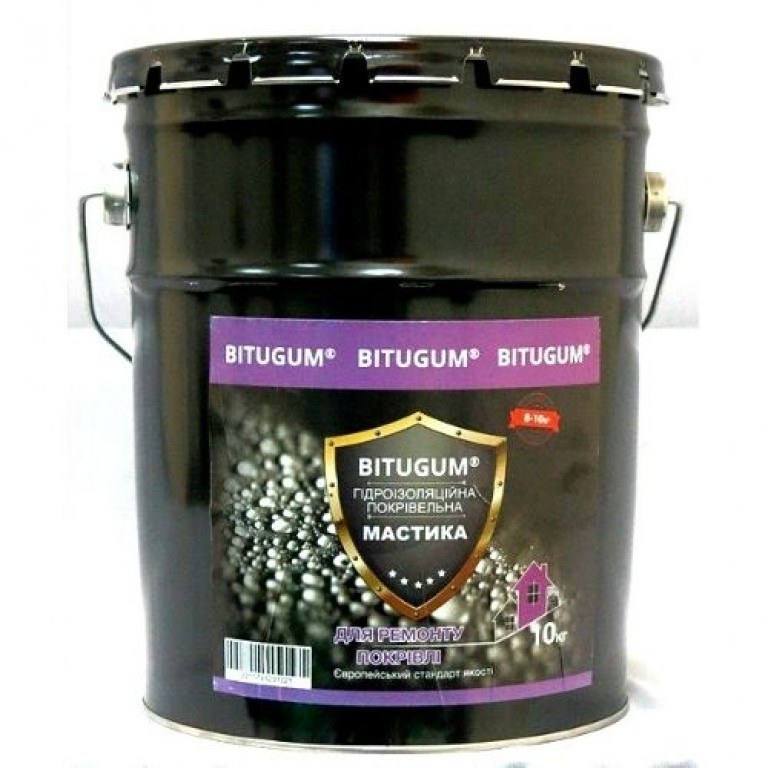 Бітумна мастика для покрівлі  (3 кг)