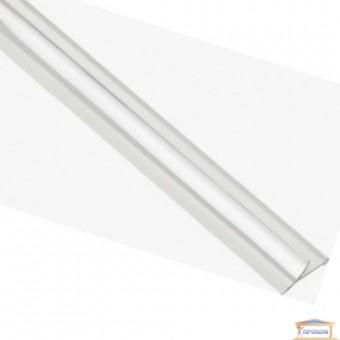 Изображение Профиль внутренний алюминиевый для плитки серебро глянец 2,7м