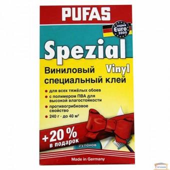 Изображение Клей для обоев Специальный Винил. 200г Pufas euro 3000