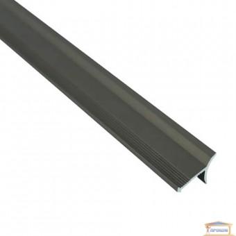 Изображение Профиль внутренний алюминиевый для плитки бронза 2,7м