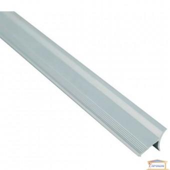 Изображение Профиль внутренний алюминиевый для плитки серебро 2,7м