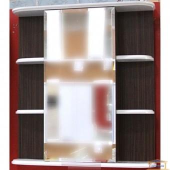 Изображение Шкаф зеркальный навесной Карибэ Ш3 65 левый венге