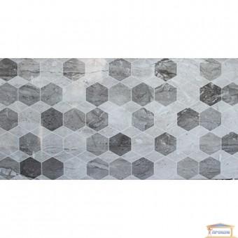 Изображение Плитка Мармо Милано  хексагон 30*60 светло серая