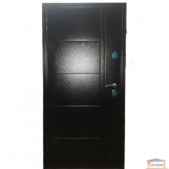 Изображение Дверь метал. БЦ Вензель орех коньячный 960 левая