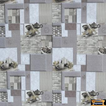 Изображение Обои флизелиновые Корица  ЭШТ 1-1209 (1,*10м) молочно-капучиновый