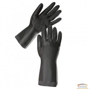 Изображение Перчатки резиновые КЛС черные XL