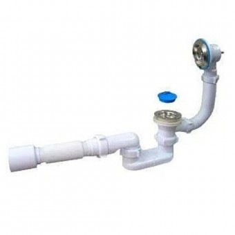 Изображение Сифон для ванны с гибкой трубой  Ани ГротE 056