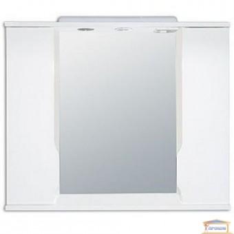 Изображение Зеркало Альба 85 белое Z-11