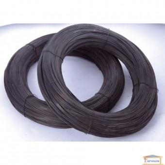Изображение Проволока вязальная т/о черная 3,0 мм
