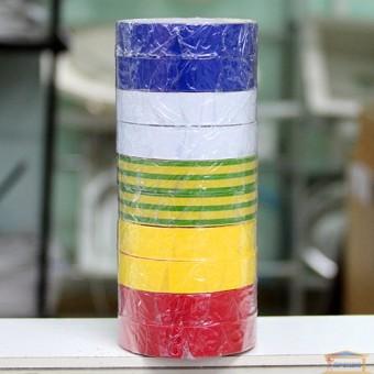 Изображение Изолента 0,15 мм*18*10 асорти Сокол