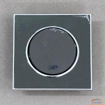 Изображение Выключатель 1-кл. внутр. черный с подсветкой LAURA RH-015022
