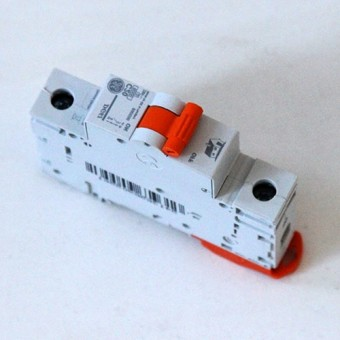 Изображение Автоматический выключатель 1р/20 General Electris 71434
