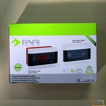 Изображение Бокс на 9 автоматов накладной FAR (F88)