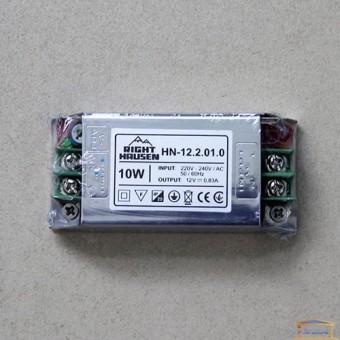 Изображение Драйвер светодиодный RH 10W 12V 0.83A HN-122010