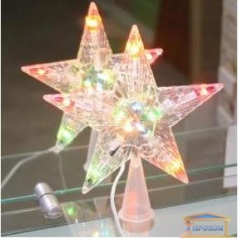 Изображение Звезда на елку 10 ламп
