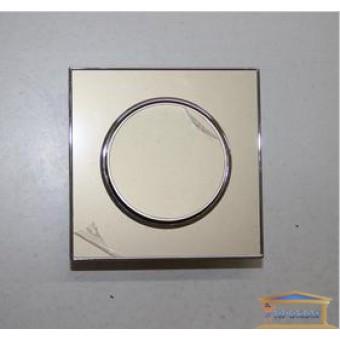 Изображение Выключатель 1-кл. внутр. золото LAURA RH-015018