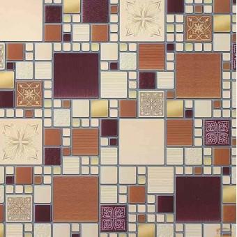 Изображение ПВХ панель Мозаика Модерн амарантовый 956*480 мм