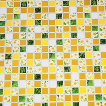 Изображение ПВХ панель Мозаика Ромашка 956*480мм