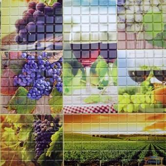 Изображение ПВХ панель Мозаика Осень 956*480мм