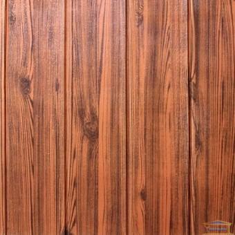 Изображение Панель стеновая 3D 700*700*6мм Дерево красное