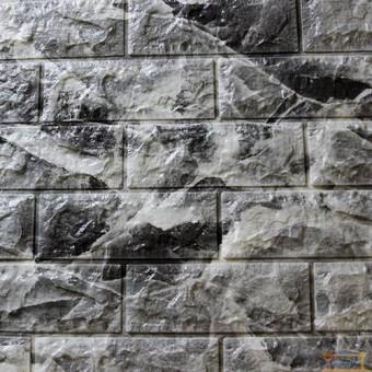 Изображение Панель стеновая 3D 700*770*7мм Мрамор черный (кирпич)