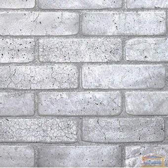 Изображение ПВХ панель Кирпич Старый серый 951*495мм
