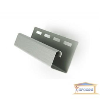 Изображение Профиль J для сайдинга 3 м серый