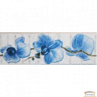 Изображение Фриз 20*6,5 Орхидея синий
