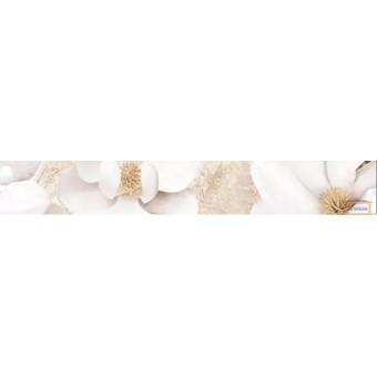 Изображение Бордюр Эмперадор 7*50 вертикальный коричневый цветы