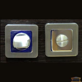 Изображение Фиксатор WC-S SN матовый никель квадрат