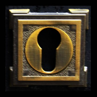 Изображение Накладка ключ-ключ Manera Hole PZ-z707 CB кофейная бронза