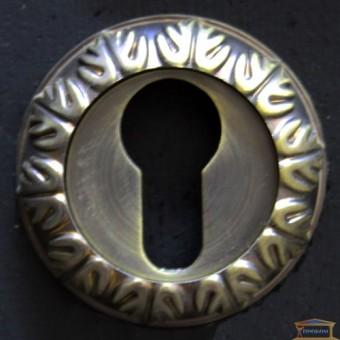 Изображение Накладка ключ-ключ Manera Hole PZ-z119 SAB матовая античная бронза