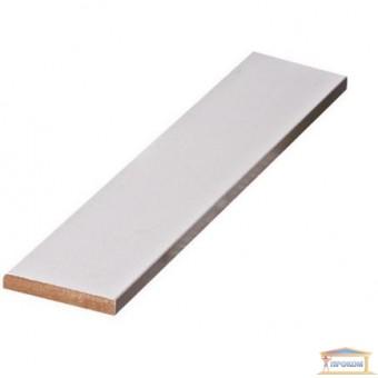 Изображение Доборная планка МДФ 2060*150*10 белая грунтованная