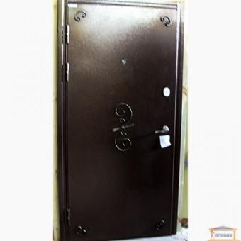 Изображение Дверь метал. Комфорт М Гранат/Эклипс 960мм VIN т.орех левая