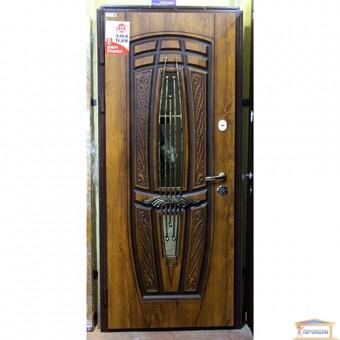 Изображение Дверь метал. Комфорт Пегас 870мм VIN дуб з.пат лев ковка