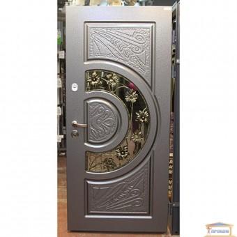 Изображение Дверь метал. Комфорт Адамант 860мм NEWантр. эмаль правая ковка
