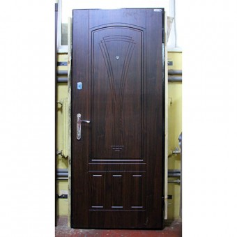 Изображение Двери входные Стандарт F Марсель 860 орех шоколад правая