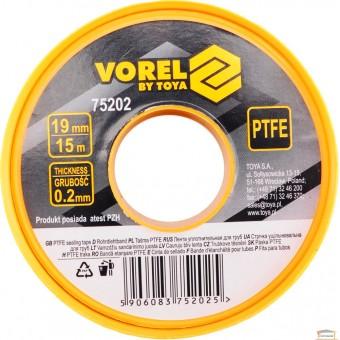 Изображение Фум-лента VOREL 15*0,2*19 тефлоновая (вода) 75202