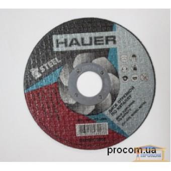 Изображение Диск отрезной по металлу Hauer 125 1,0мм 17-246