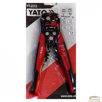 Изображение Клещи для зачистки проводов YATO 205 мм YT-2313