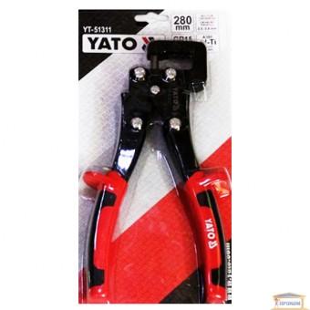 Изображение Клещи для соединен металич профил YATO 280 мм YT-51311