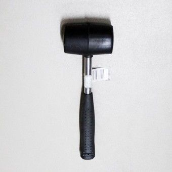 Изображение Молоток резиновый с метал. ручкой, d-66mm 33907