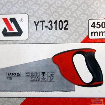 Изображение Ножовка по дереву 450мм YT-3102