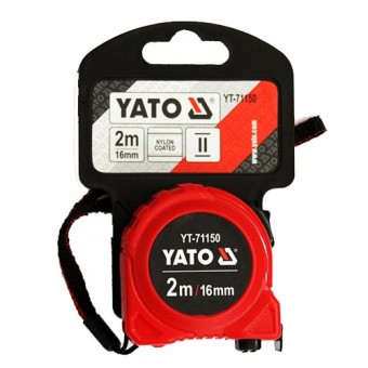 Изображение Рулетка YATO 16мм, 2м  YT-71150
