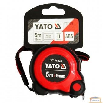 Изображение Рулетка YATO 19мм, 5м  YT-71076