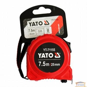 Изображение Рулетка YATO 25мм 7,5м  YT-71155