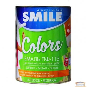 Изображение Эмаль ПФ-115 Смайл черная матовая 0,9кг