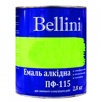 Изображение Эмаль Беллини ПФ-115 морская волна 2,8 кг