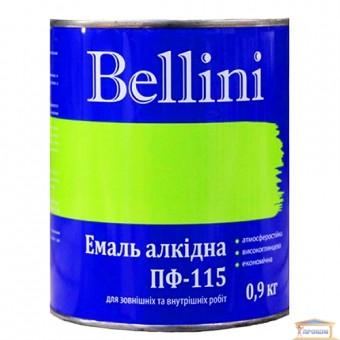 Изображение Эмаль Беллини ПФ-115 светло-голубая 0,9 кг