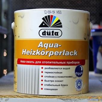 Изображение Аква-эмаль для радиаторов Дюфа 2,5л